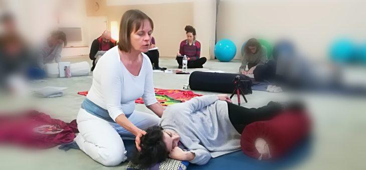 Désir d'enfant : le shiatsu en soutien à la fertilité et à la maternité. Interview de Suzanne Yates.