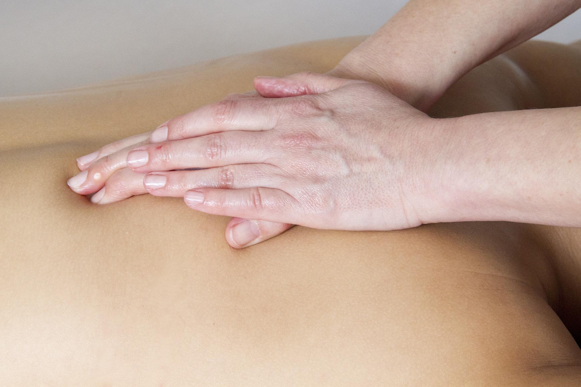 massage confiance toucher