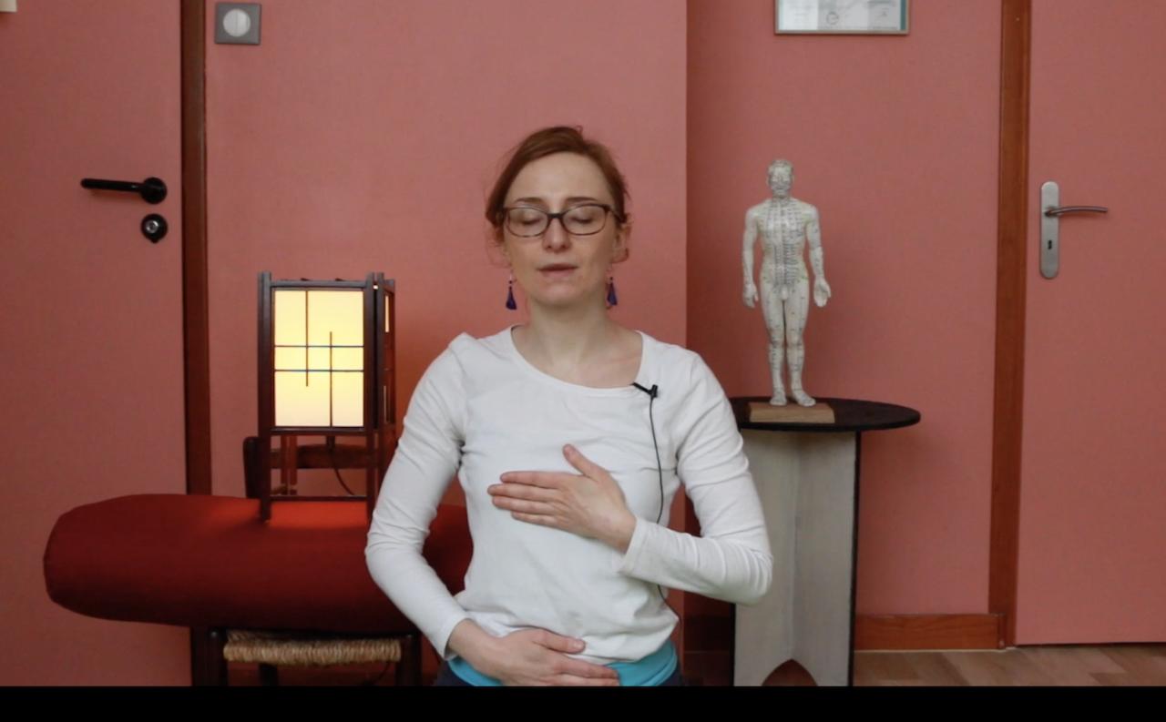connexion Bao Mai Coeur Uterus respiration zen